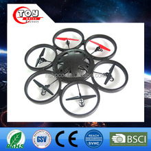 kids 2.4G headless 4CH toys 6 blade rc UAV big drone with compass mode