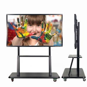 75 inch classroom interactive touch screen monitor smart electronic writing white board