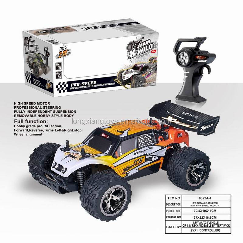 Christmas Gift 1:18 2.4G Unisex Wireless 4 Channel Rc Car