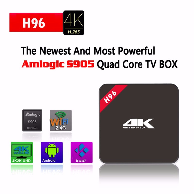 Cheap H96 1GB/8GB Amlogic S905 Android <strong>TV</strong> <strong>Box</strong> Android 6.0 h96 Smart <strong>TV</strong> <strong>Set</strong> <strong>Top</strong> <strong>Box</strong>