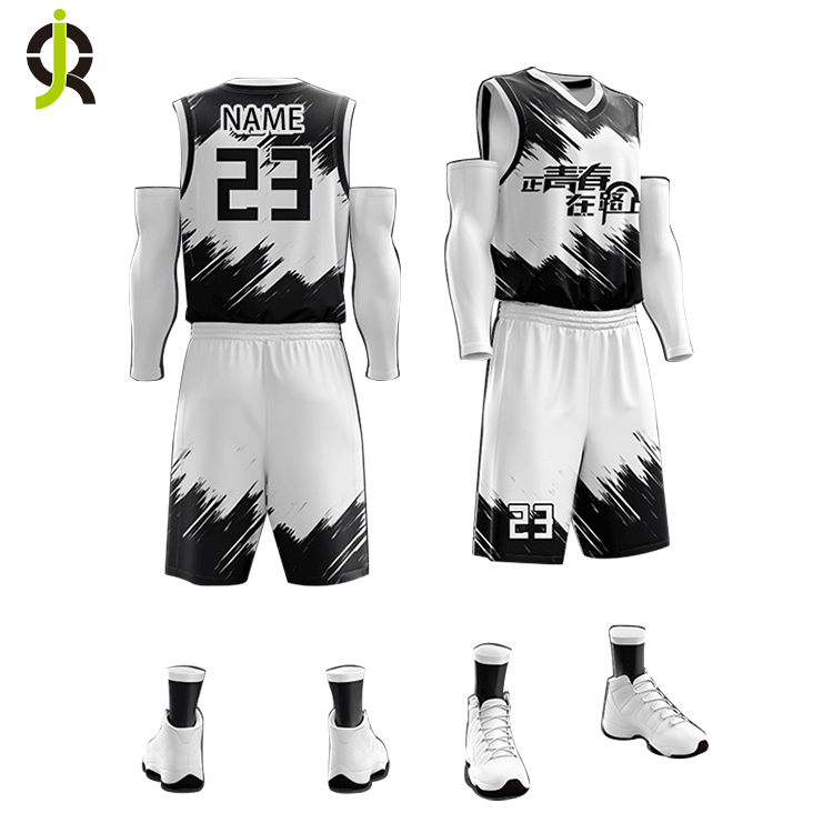 Wholesale Latest Custom College Cheap Basketball Clothing Set Sublimation Printing Reversible Basketball Jersey Uniform Design фото
