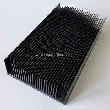 Forced Air Cooling Heatsink 110(w)*40(h)*200 (l)mm;aluminum ...
