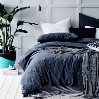 100 French Linen Bed Sheets Stone Washed Pure Bedding Set