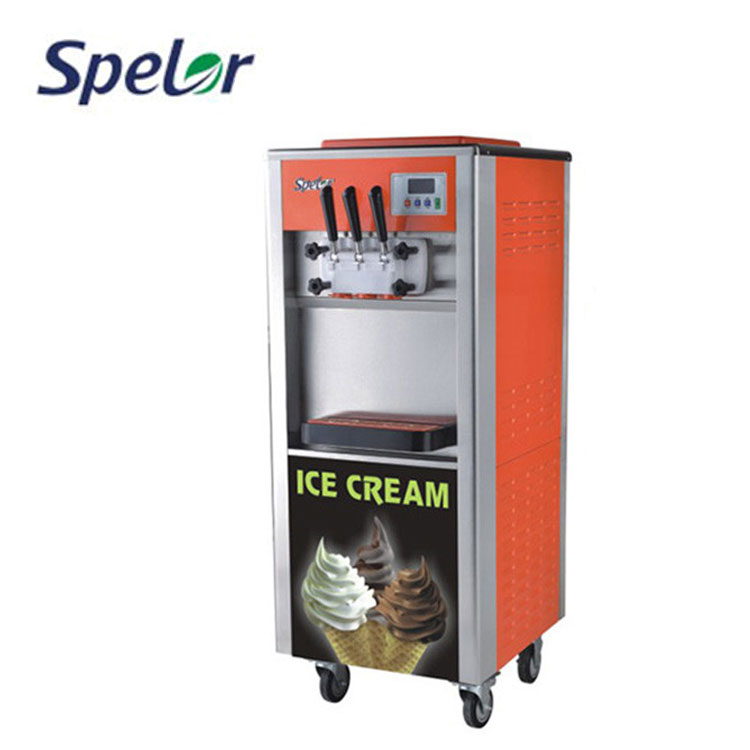 High quality european style SPELOR new design soft ice cream machine