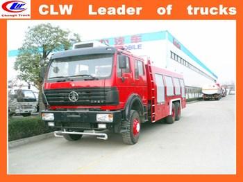 China Fire Truck Knuckle Boom Mobile Crane Fire Fighting Pump ...