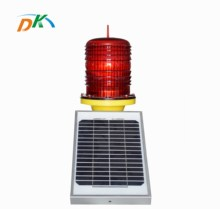 DK led solar powered faro luz de advertencia de aviones en la <span class=keywords><strong>pista</strong></span> fabricante de la <span class=keywords><strong>lámpara</strong></span>