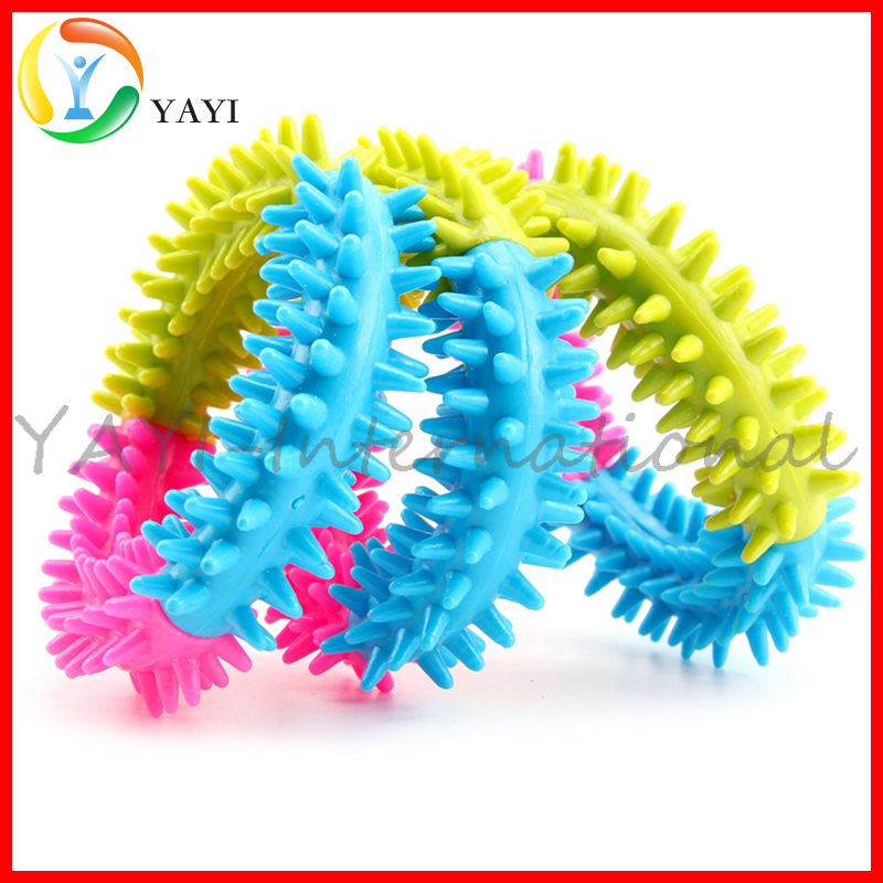 Mixed Color TPR Rubber Teeth Chew Training Pet Dog Toys