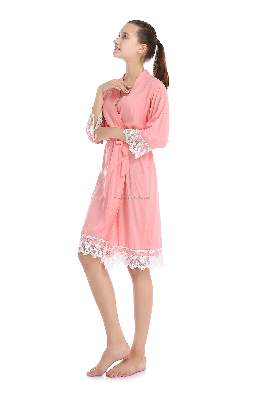 Moderno Vestido De Novia Estilo Kimono Festooning - Colección de ...