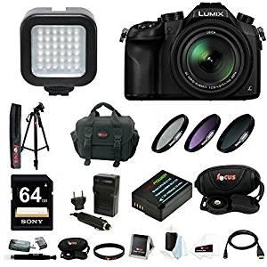 Get Quotations Panasonic LUMIX DMC FZ1000 Digital Camera W 59 Photo Video Tripod
