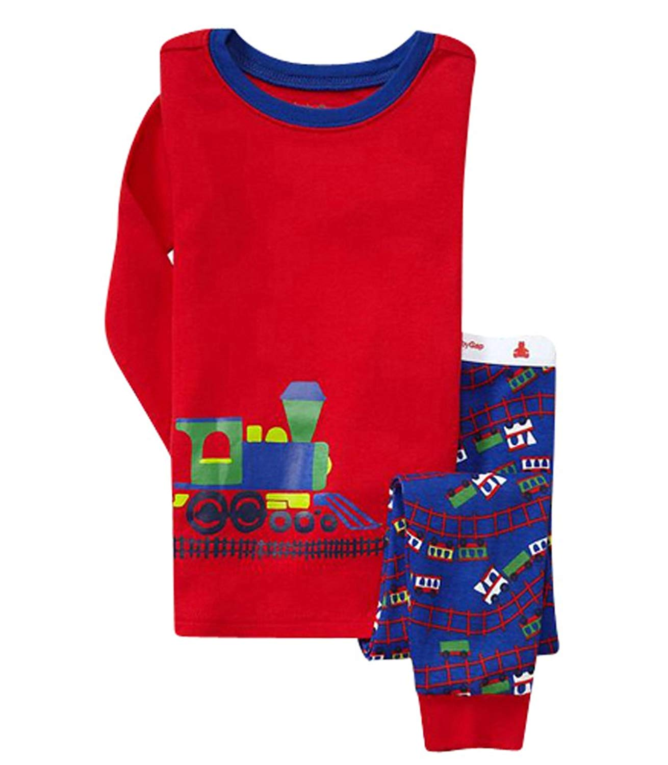 30d24bc5b new bailey boys red striped pajamas with reindeer applique ...