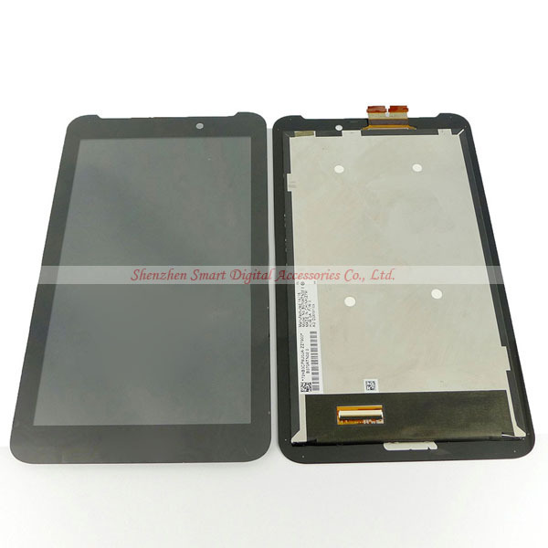 For ASUS MeMO Pad 7 ME170 ME170C Touch Digitizer + LCD Screen Display Assembly 5581L FPC-1 Repair Part Free Shipping