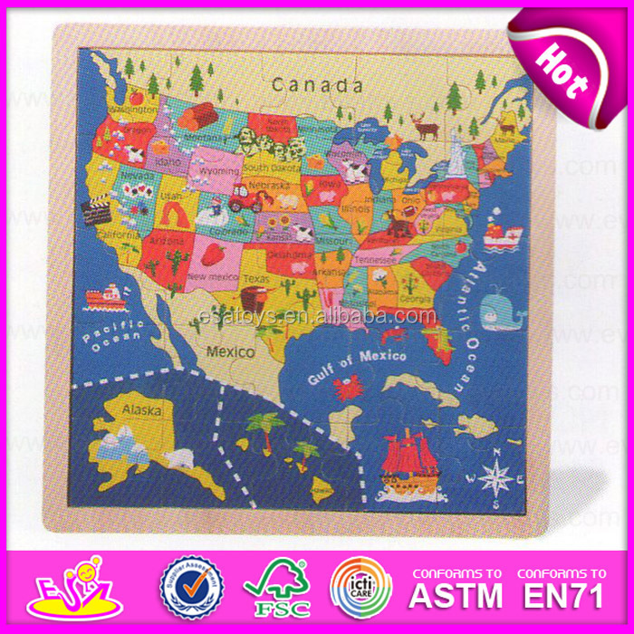 Educational kids world map puzzlechildren diy map jigsaw puzzle educational kids world map puzzlechildren diy map jigsaw puzzlemontessori equipment africa america gumiabroncs Images