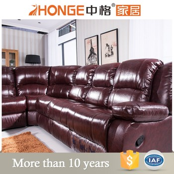 7 seater sectional nitaly leather recliner sofa, View sectional ...