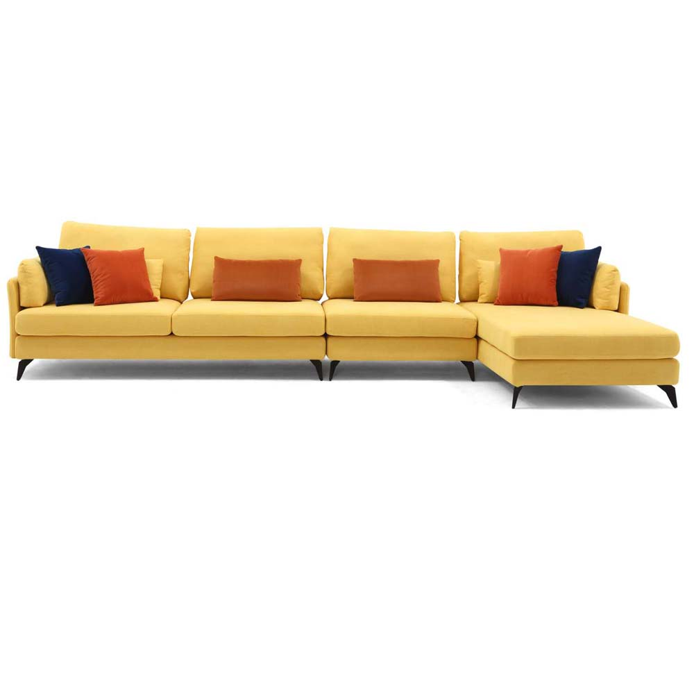 Miraculous 2019 Nice Modern Style Fabric Sectional Sofa Yellow Color Buy Sectional Sofa Yellow Color Sofa Modern Sofa Product On Alibaba Com Gmtry Best Dining Table And Chair Ideas Images Gmtryco