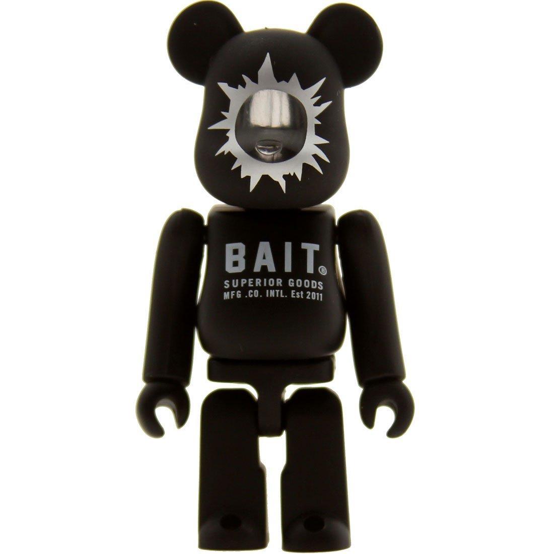 459466e7 Get Quotations · BAIT x Medicom 100% Bearbrick Figure Be@rbrick - BAIT SDCC  Exclusive, Black