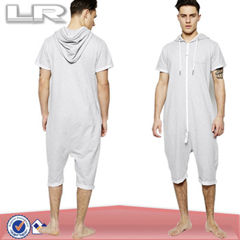 11855f9b248 100 Cotton Whole Summer Onesie Men S Pajamas