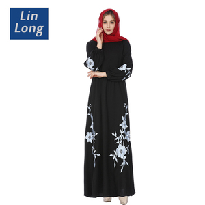 e74d3ee575803 Latest Gown Evening Dress, Black Abaya Gown