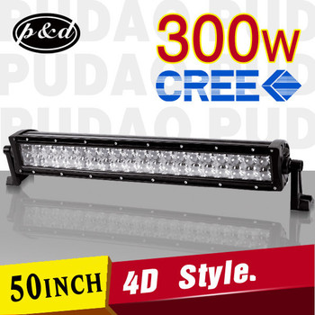 New Style Led Offroad 300w 4d 12 Volt Led Light Bar For Truck ...