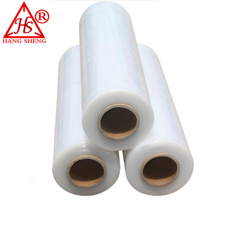 Lldpe jumbo rolle hand pe stretch film preis