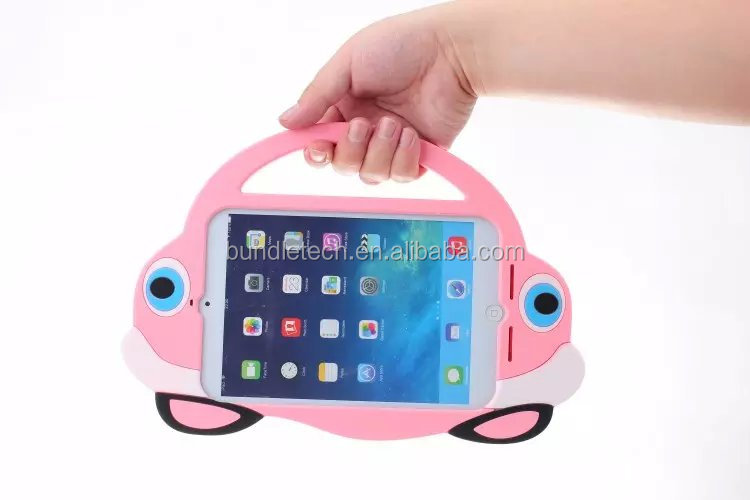 Car Design Stand EVA Foam Tablet Case for Apple iPad Mini Cover Factory Price