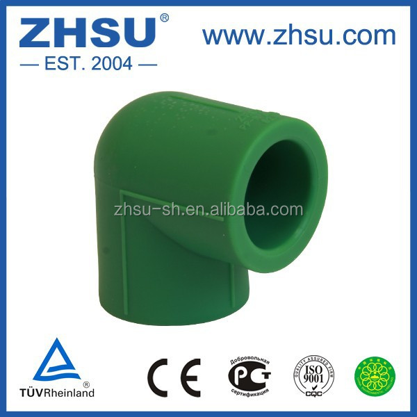 Ppr Pipe Fitting 90 Degree Aluminum Elbow