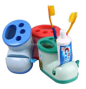 Creative Multifunctional Boots Toothbrush Holder with Toothpaste Squeezer For Bathroom / Bathroom Accessories