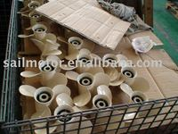 Aluminum propeller all size for all brands of outboard motor