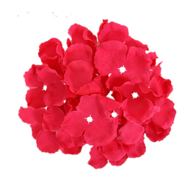 wedding Petal artificial flowers simulation marry valentine day romantic floor mounted false blossom