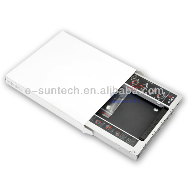 Factory OEM 9.5mm HDD Enclosure external hard disk caddy