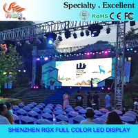 RGX led screen 3 years warranty P12 outdoor rental panel
