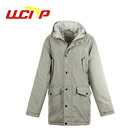 7a5c92016c90 Latest design custom winter warm men luxury parka long quilted jacket  puffer military coat