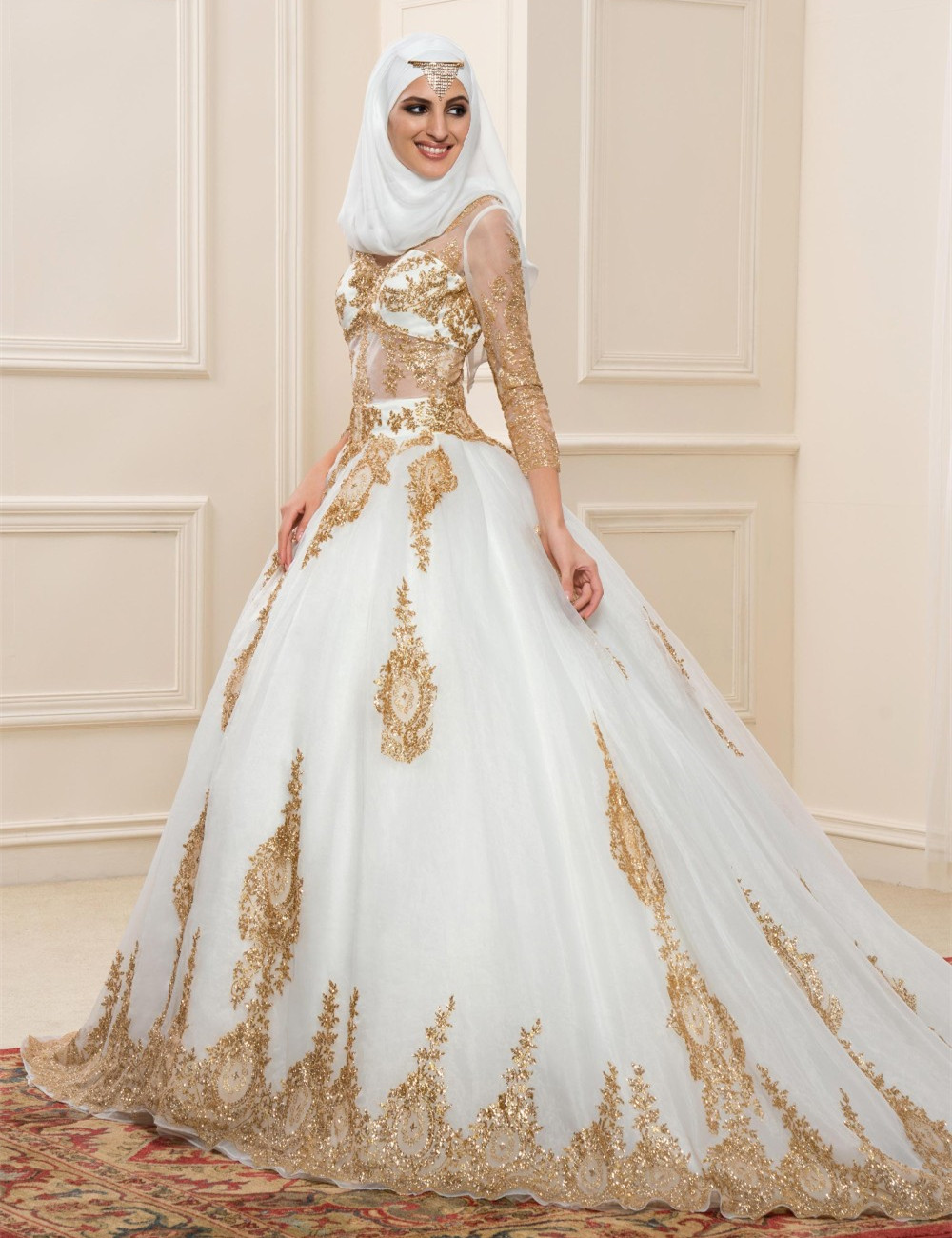 Popular Muslim Wedding Dress-Buy Cheap Muslim Wedding