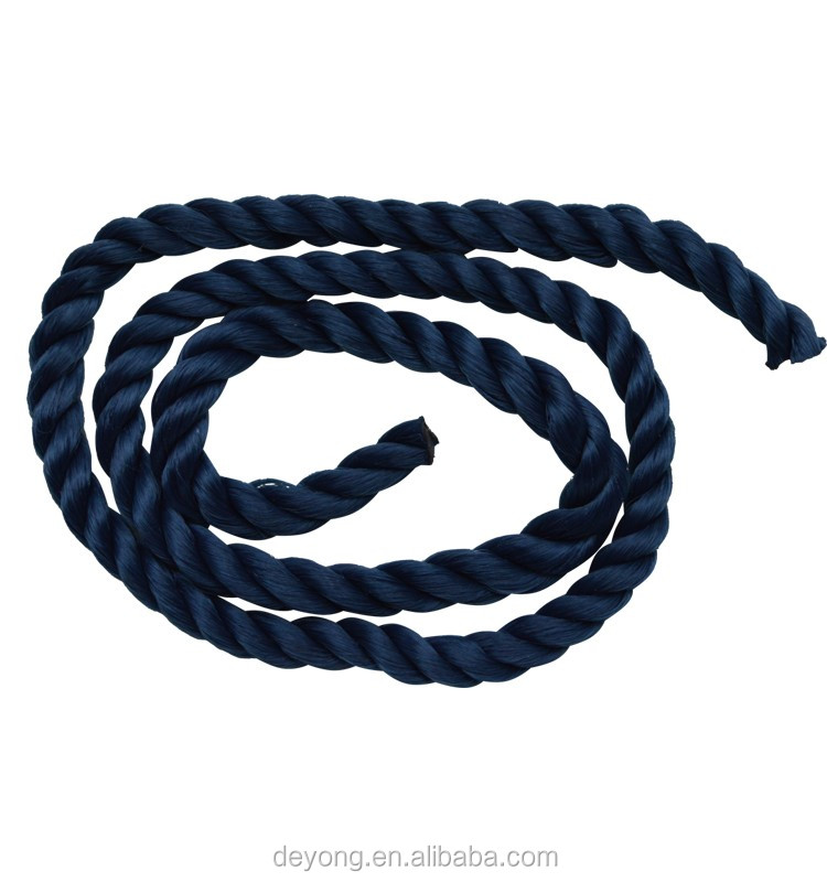 High Quality 3 Strands Twisted Nylon Packaging Rope