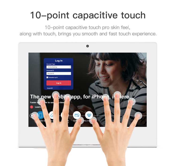 10 inch Android tablet pc evaluator  tablet for customer deriver feedback system device