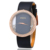 SMEETO 3 atm Water Resistant new fashion diamound ladies wrist watch with genuine leather band quartz watches for woman