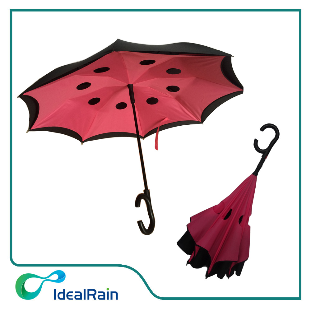 Double Layer Automatic Reverse Umbrella inverted umbrella