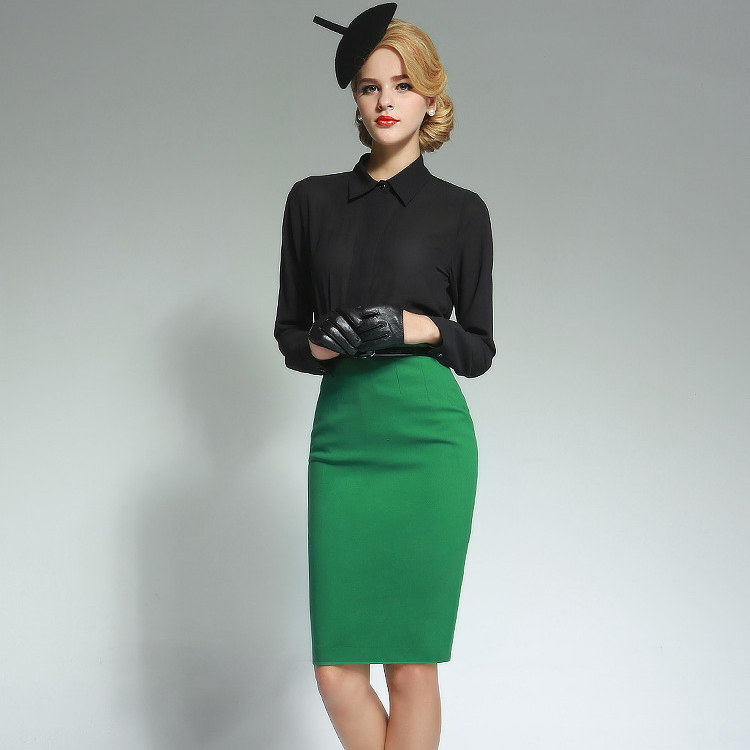 Flowy Skirts for Women Knee Length a Line High Waisted Flared Skirt - USA $ 15 99 Prime. out of 5 stars Paul Jones®Dress. Colorfast Pencil Skirts Elastic High Waist Knee Length Bodycon Bandage Skirt for Office. from $ 9 99 Prime. 4 out of 5 stars Kate Kasin.