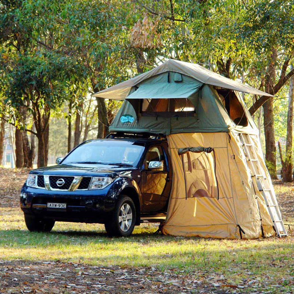 Waterproof Sunshade Folding Roof Top Pop-up Car Camping Outdoor <strong>Tent</strong> with Awning