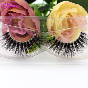 Best Sell False Eyelashes Private Label Clear Band 3D Faux Mink Eyelash