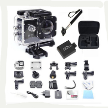SJ4000 WiFi go pro hero 3 style Sport Camera video 30M Waterproof 1080P Full HD DVR Sport action Camera+ battery+monopod+cam bag