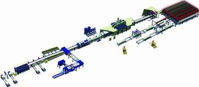 PU continuous automatic sandwich panel line