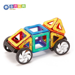 Fine Quality Toys Plastic Hot Kid Toys Plastic Magnetic Building Blocks Car
