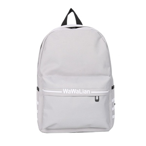 simple soft unisex water resistant bag school used backpacks for teenagers