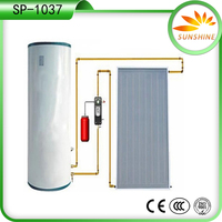 100L Compact Family Use Solar Thermal Water Geyser System