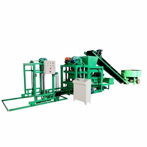 QTJ4-25 concrete color pavers blocks making machine hot sale in 2019