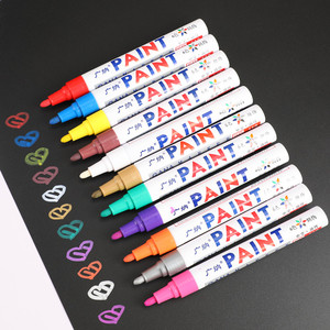 Cheap Paint Marker Pen for car tyre repair glass marking indelible ink paint pen