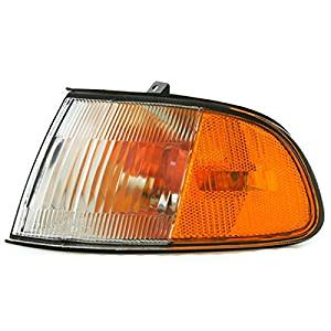 1992-1993-1994-1995 Honda Civic 2-Door Coupe & Hatchback Corner Park Light Turn Signal Marker Lamp Left Driver Side (92 93 94 95)