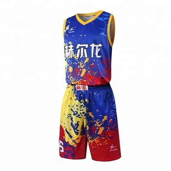 a6b23b807aae New Design Basketball Uniform Sublimation Cheap Basketball Jersey ...