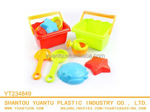 Funny Beach Toys Spades Plastic Square Beach Buckets toy for kids!