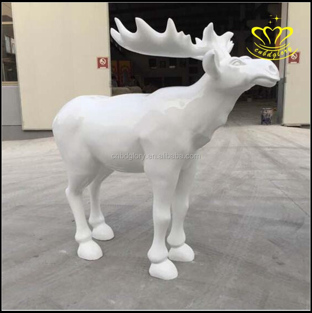 Playground Kindergarten Home Decoration Christmas Cartoon Fiberglass Resin Character Sculpture